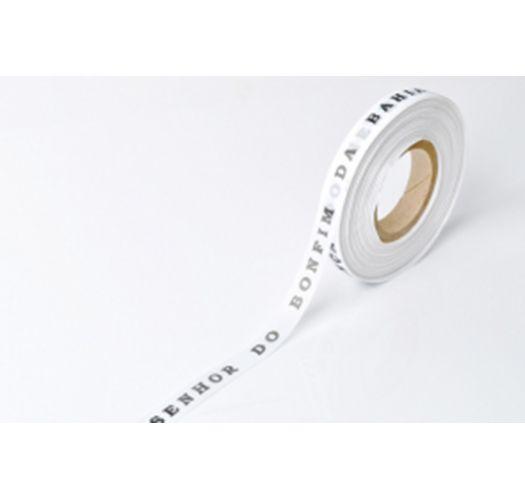 Рулон бразильской ленты белого цвета - ROLLER BONFIM - BRANCO