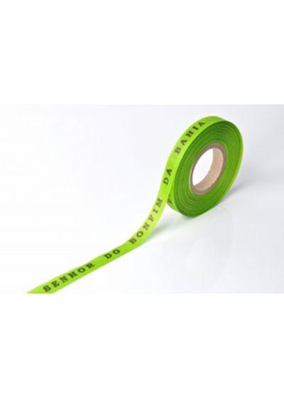 Limegrönabrasilianska önskeband på rulle - ROLLER BONFIM - LIMAO