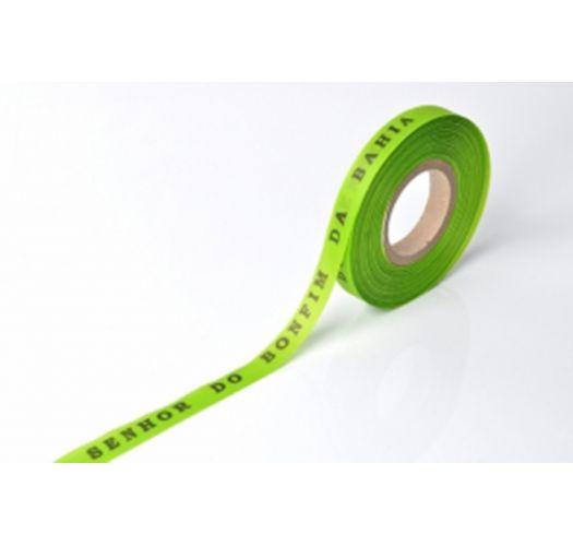 Rolo de fitinhas brasileiras verde lima - ROLLER BONFIM - LIMAO
