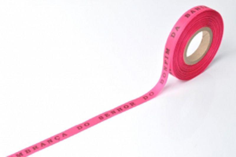Рулон бразильской ленты ярко-розового цвета- ROLLER BONFIM - ROSA CHOQUE