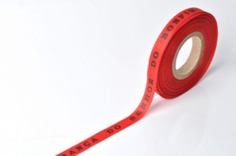 Röda brasilianska önskeband på rulle - ROLLER BONFIM - VERMELHO