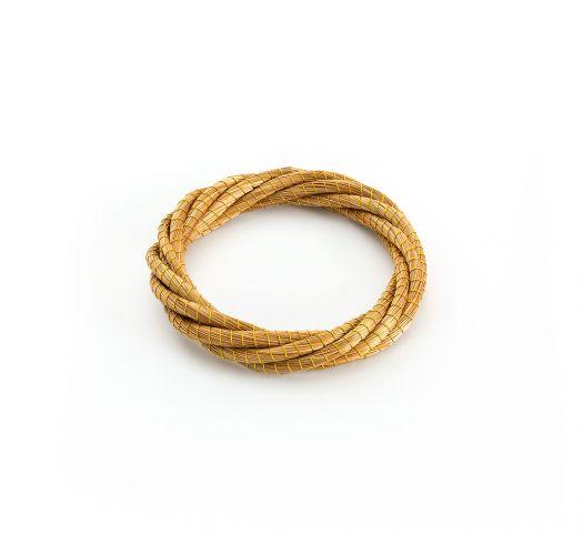 Multi-tråd vridd armbånd capim dourado - LIANA