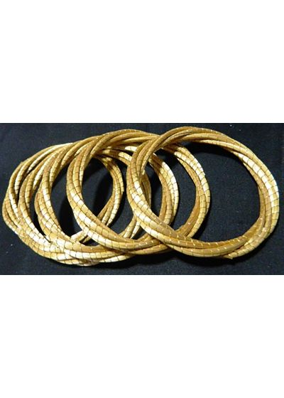 Multistrand tvinnat armband capim dourado - LIANA
