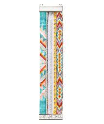 Multicoloured bead bracelet with Brazilian ribbon - HIPANEMA ACAPULCO