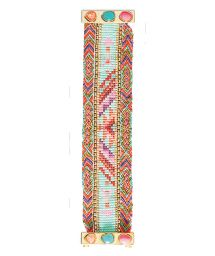 Colourful beaded bracelet, clasp with stones - HIPANEMA PAQUITA