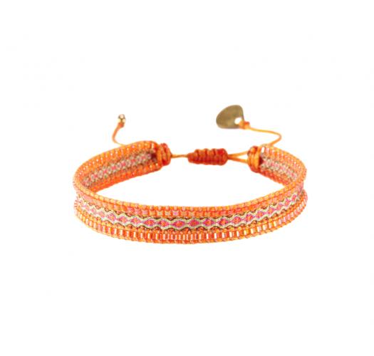 Bracelet CANAL ORANGE