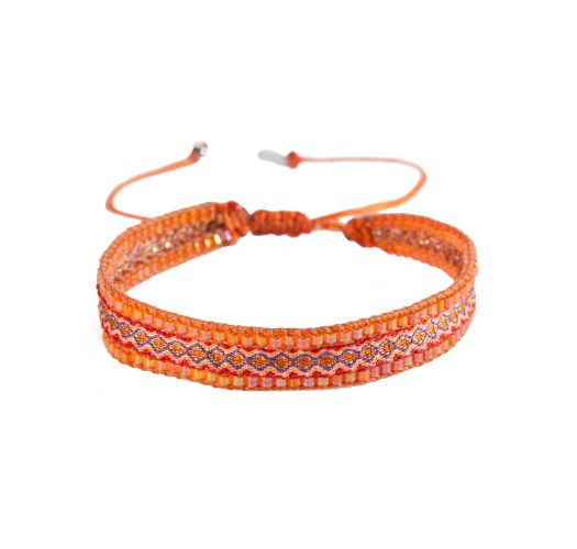 Bracelet CANAL RED ORANGE