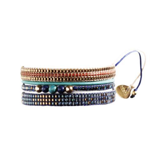 Bracelet POTPOURRI GOLD BLUE