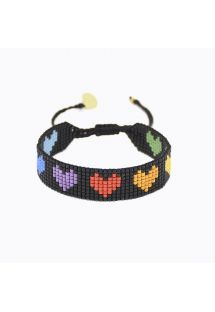 RAINBOW HEARTS B-BE-S-9338