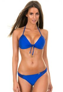 Brazilian Bikini - ELECTRIC BLUE PUSH UP