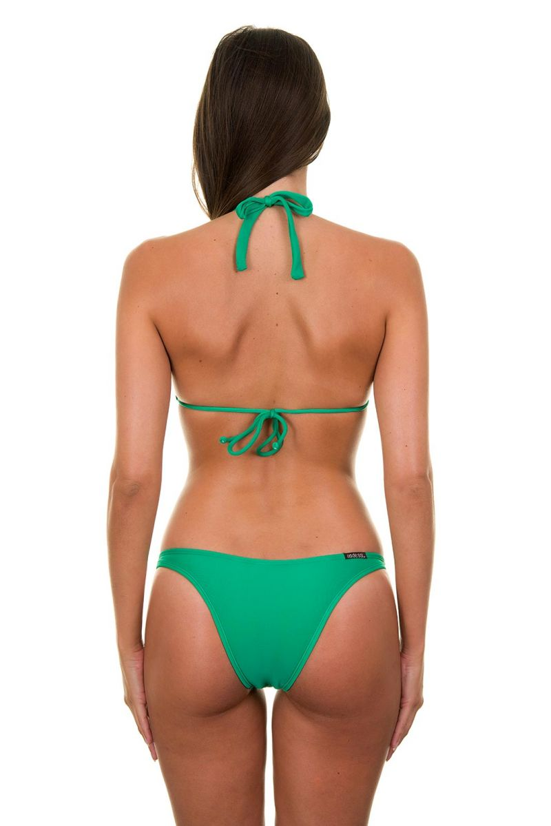 Green 2-piece triangle bikini - PETERPAN CORTINAO BASIC