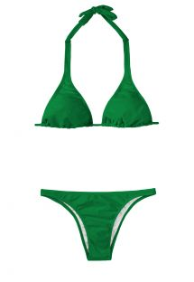 Maillot 2 pièces triangle vert - PETERPAN CORTINAO BASIC