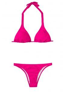 Bikini Brasileño - PINK CORTINAO BASIC