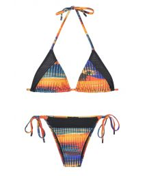 A brazilian sports bikini designed in cooperation with Adidas - ORANGE RIO
