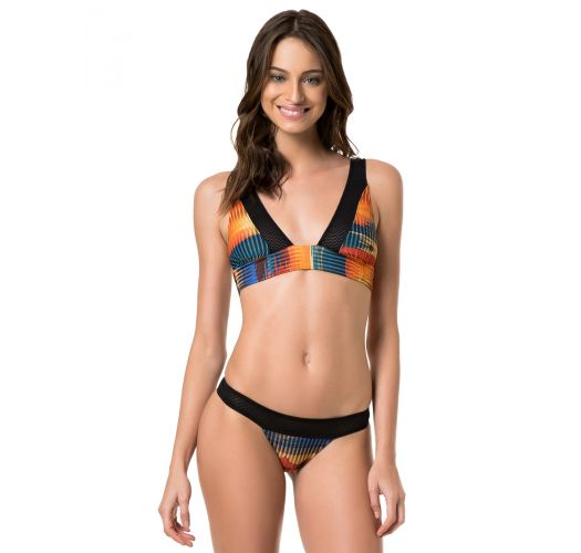 A sporty design bikini, made in collaboration with Adidas - RIO AMBRA