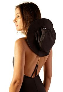 Black soft hat with logo - CHAPEU KITE