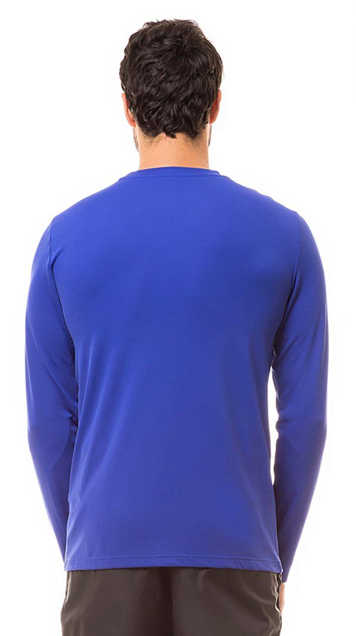 Navy long sleeve for men - UPF50 - CAMISETA UVPRO AZUL - SOLAR PROTECTION UV.LINE