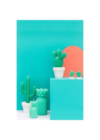 Stort kaktusformat ljus - CACTUS CANDLE LARGE