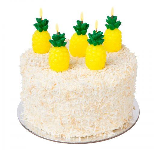 PINEAPPLE CAKE CANDLE