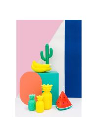 Small yellow pineapple shape candle - PINEAPPLE CANDLE SMALL