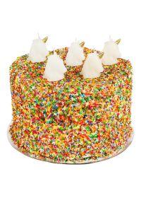 Set of 5 unicorn pick candles - UNICORN CAKE CANDLE