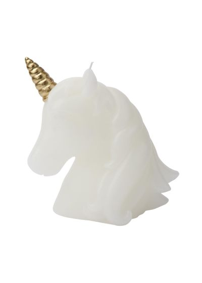 Medelstort ljus, i form av unicorn - UNICORN CANDLE MEDIUM