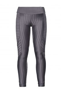 Leggings sport grigi in materiale iridato - LEGGING ZAP