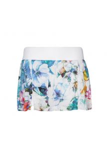 Fitness - SKIRT AQUA FLOWER
