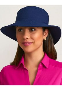 CHAPEU CALIFORNIA MARINHO - SOLAR PROTECTION UV.LINE