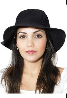 CHAPEU CALIFORNIA PRETO - SOLAR PROTECTION UV.LINE