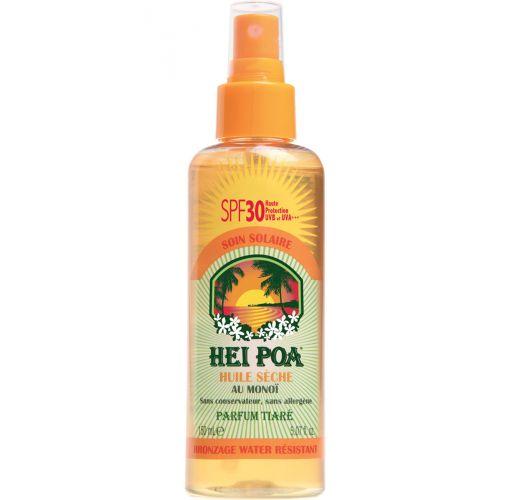 Monoi dry oil spray with SPF30 - HUILE SÈCHE TIARE SPF30 150ML