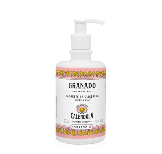 100% vegetable liquid soap with calendula extract - CALÊNDULA LIQUID SOAP