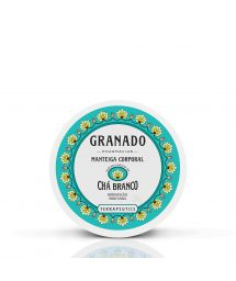 Moisturizing body butter with white tea extract - CHÁ BRANCO BODY BUTTER