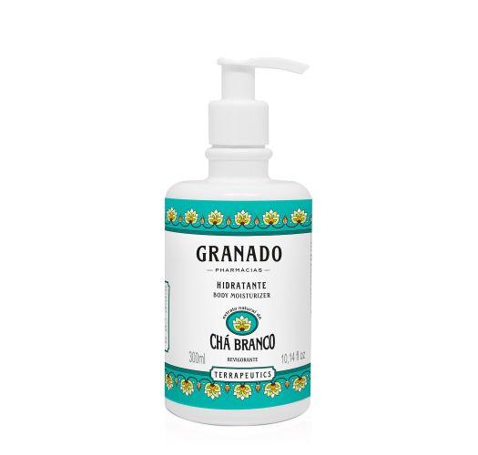 Moisturizing body cream with white tea extract - CHÁ BRANCO BODY MOISTURIZER