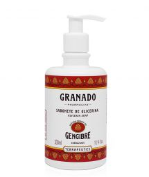 100% vegetable liquid soap with ginger extract - GENGIBRE LIQUID SOAP