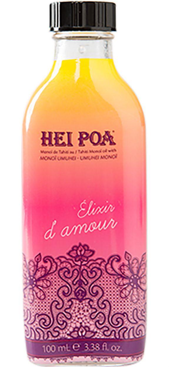 Monoï de Tahiti, fruktig, blommig och kryddig doft - MONOÏ ELIXIR D'AMOUR 100ML