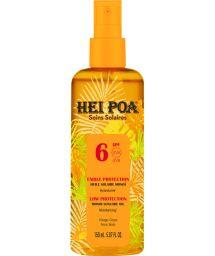 Huile sèche au monoï en spray faible protection - MONOI TIARE SUN PROTECTION OIL SPF6
