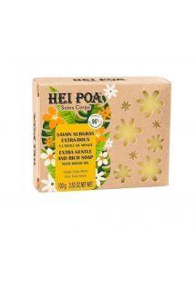 Extra jemné rastlinné maslo s olejom monoi - 100g - SAVON SURGRAS EXTRA-DOUX