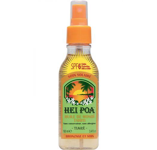 SPF 6 monoi suntan oil scented with vanilla - SPRAY MONOÏ VANILLE SPF6 100ML