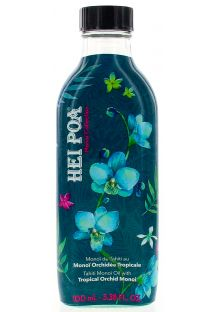 Monoi oil with tiare flowers and tropical orchid - TROPICAL ORCHID MONOÏ 100ML