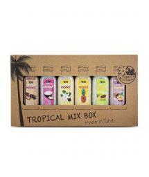 Assortiment de 6 sels de bain aux parfums exotiques - BATH SALT 6X30 ML TROPICAL MIX BOX