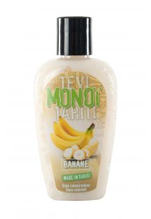 Banana scented Tahiti monoï tattooed bottle - MONOI GOURMAND BANANE 125ML