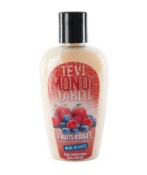 Red fruit scented monoï, tattooed bottle - MONOI GOURMAND FRUITS ROUGES 125ML