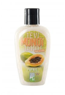 Papaya scented Tahiti monoï, tattooed bottle - MONOI GOURMAND PAPAYE 125ML