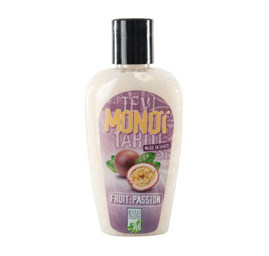 Passion fruit scented Tahiti monoï, tattooed bottle - MONOI GOURMAND FRUITS DE LA PASSION 125ML