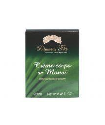 Body cream with Tahitian tiaré flower - CRÈME CORPS AU MONOÏ TIARÉ 250ML