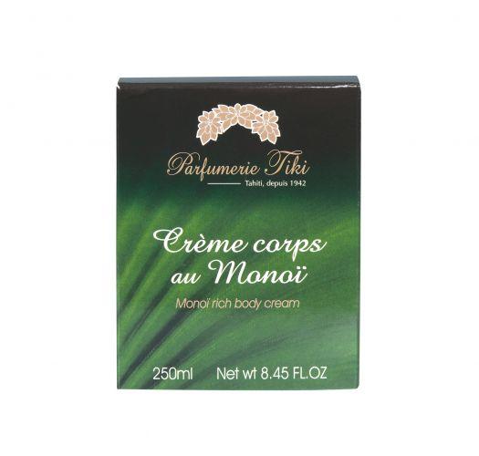 Body cream with Tahitian tiare flower - CREME CORPS AU MONOI TIARE 250ML