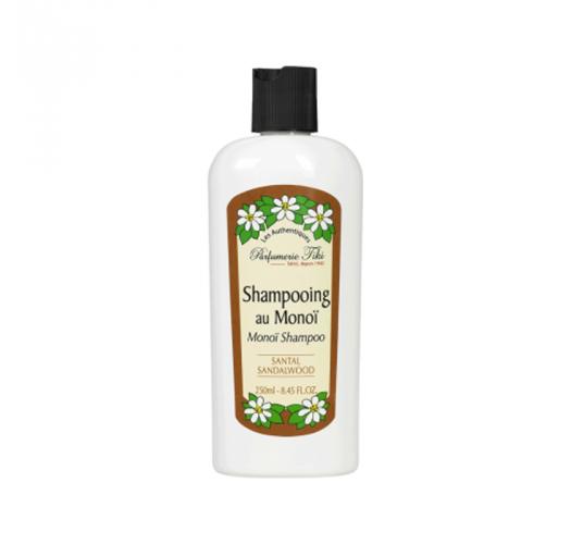 Shampoo enriched with monoi oil, sandalwood fragrance - SHAMPOOING TIKI AU MONOÏ SANTAL 250ML