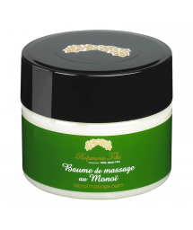 Massage balm with monoï oil, beeswax and carnauba wax - BAUME DE MASSAGE AU MONOÏ TIARÉ 150ML