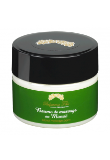 Massage balm with monoi oil, beeswax and carnauba wax - BAUME DE MASSAGE AU MONOI TIARE 150ML